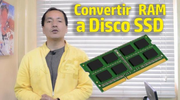 convertir memoria RAM en disco SSD