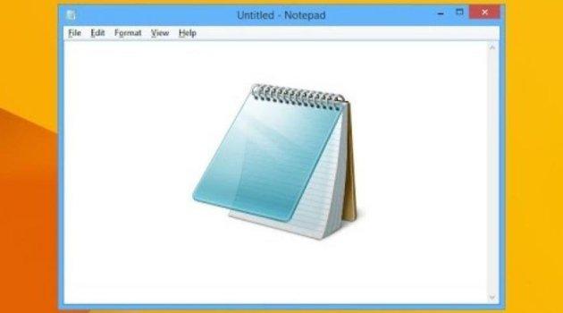 NotePad en Windows 10