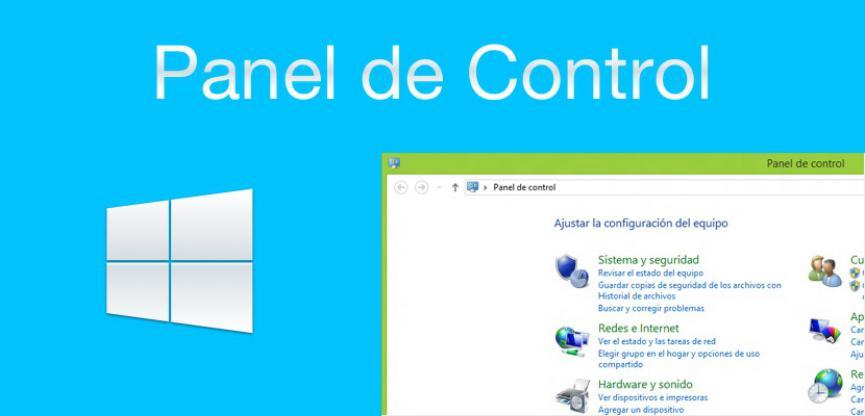 panel de control windows 10 español