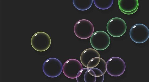 Salvapantalla de Burbujas