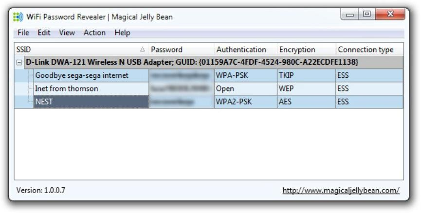 ver clave Wi-Fi en Windows 10