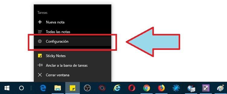 Notas Adhesivas en Windows 10
