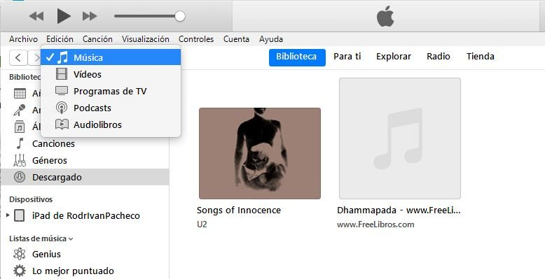 recuperar App Store en iTunes de Windows