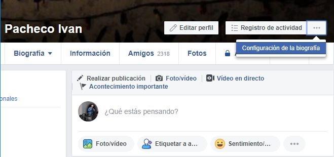 Ver como en Facebook