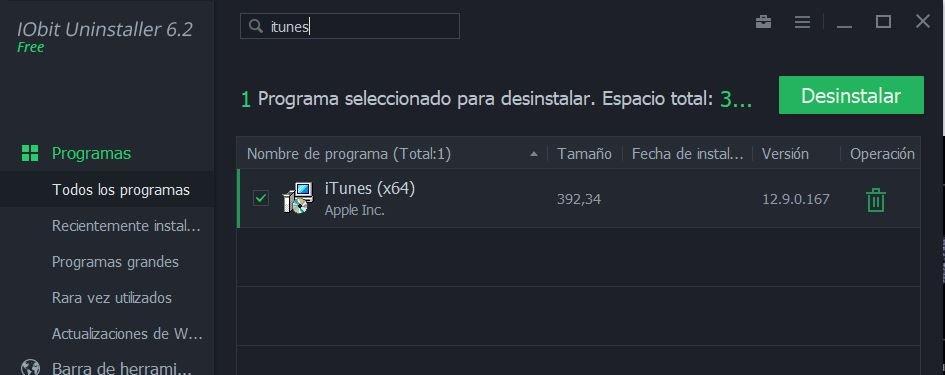 recuperar App Store en iTunes de Windows