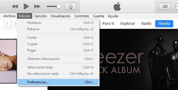 convertir Canciones de iTunes a MP3