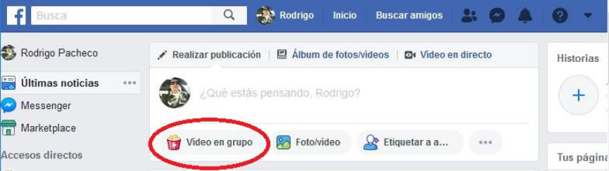 Videos en Grupo en Facebook