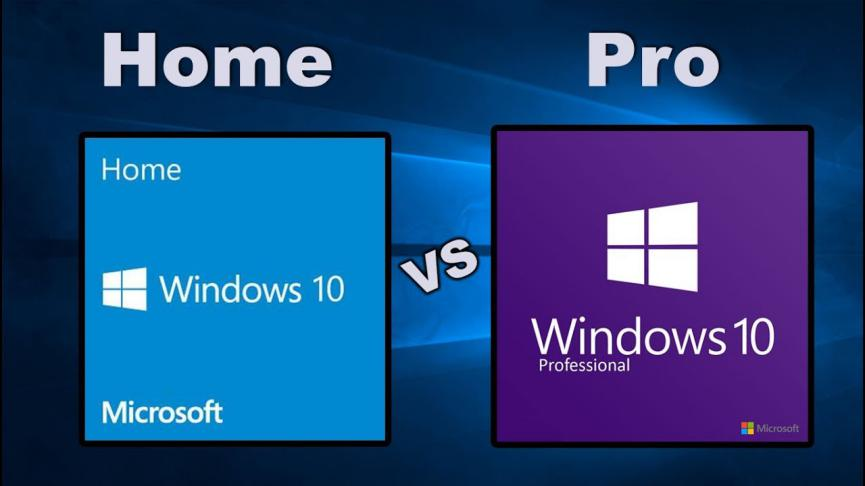 Windows 10 Pro versus Home: ¿Cuál Versión debes Usar en el PC?