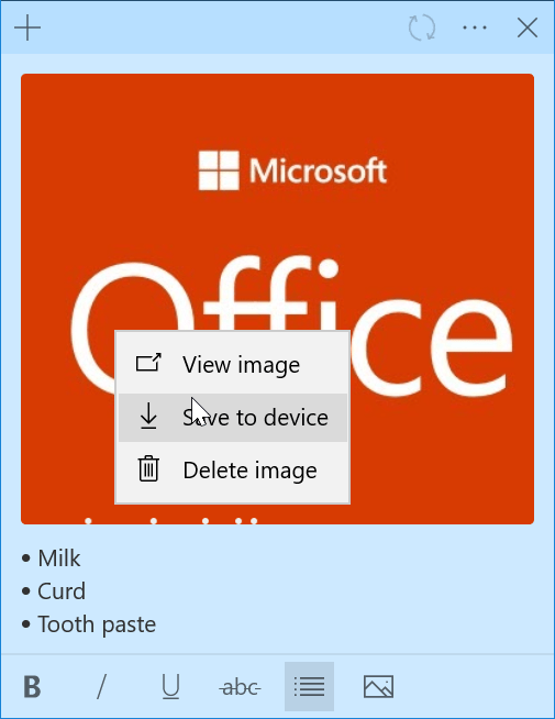 Sticky Notes notas rapidas Windows 10