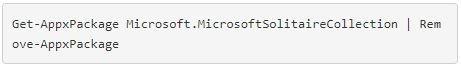 desinstalar Microsoft Solitario en Windows 10