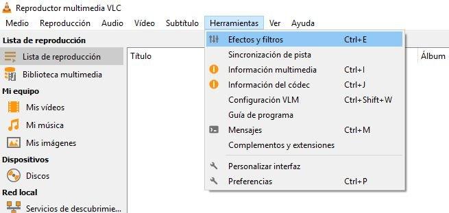 mejorar calidad de video con VLC Media Player