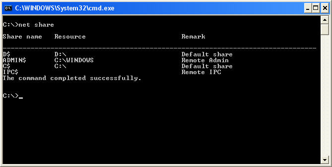 Disable Administrative Shares - How to