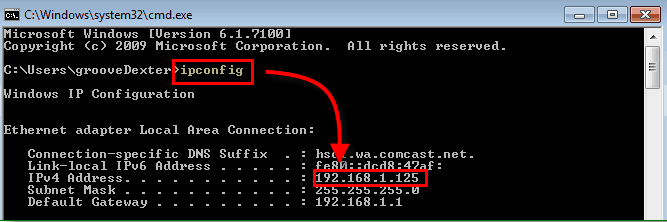 How to Check IP Address from CMD