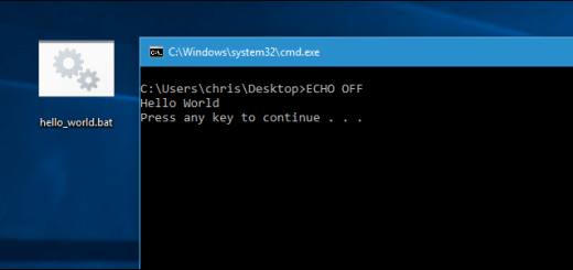 Batch file: ECHO Command - How to