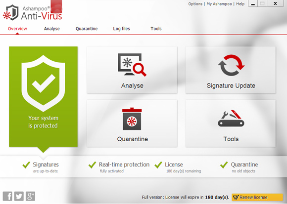 Ashampoo Antivirus 2019 Free Download Full Version