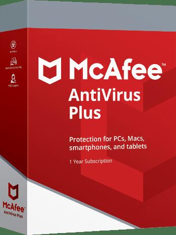 Mcafee Antivirus Plus 2018 Activation Code Serial Key Free Download