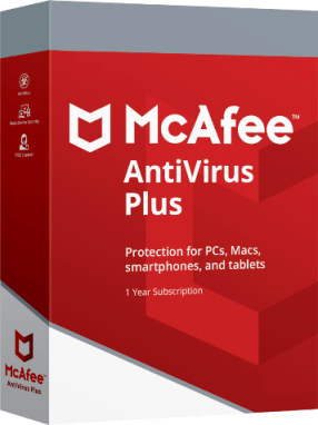 Mcafee Antivirus Plus 2020 License Key
