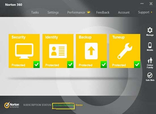 Norton 360 Free Trial for 180 Days Download