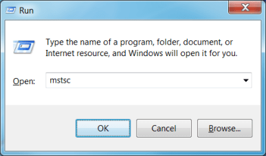 How to Run Command for Remote Desktop