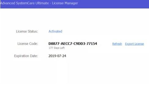 License 2019