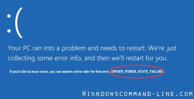Driver Power State Failure Windows 10/8/7 - Blue Screen Fix