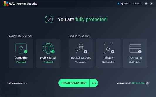 AVG Internet Security 2020 Activation Code