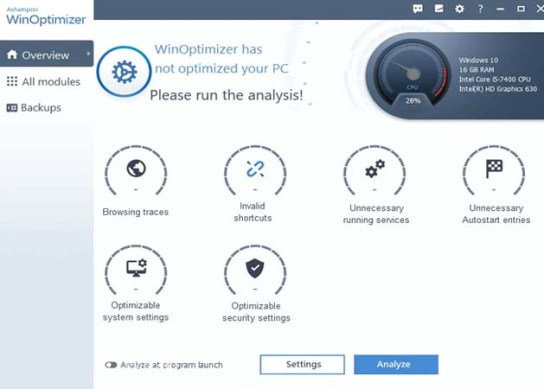 Ashampoo WinOptimizer 2021 License Key for Free [Giveaway]