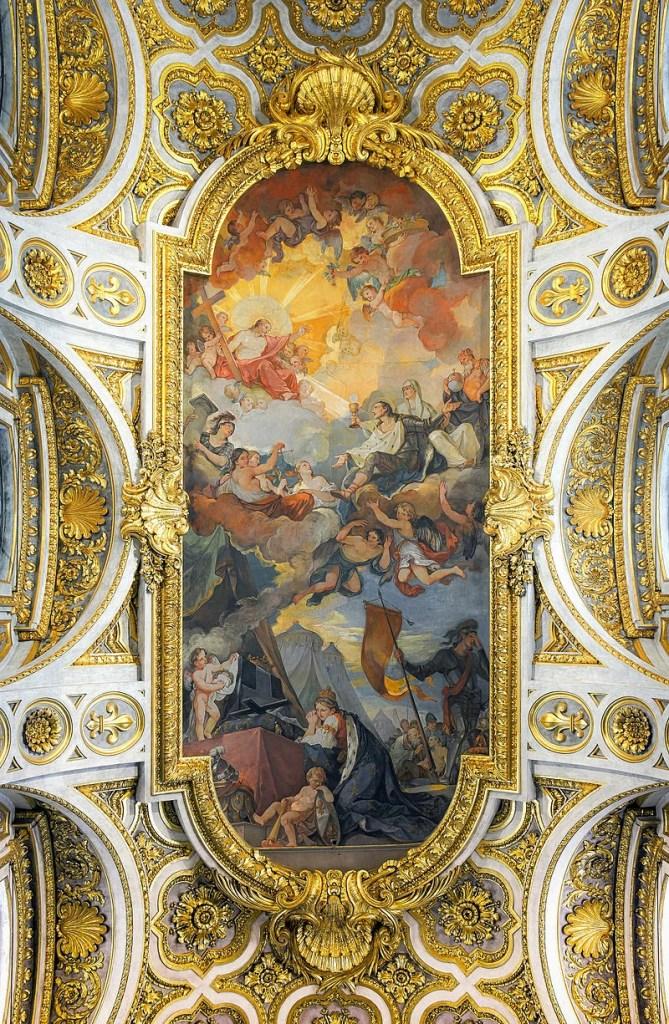 San_Luigi_dei_Francesi_(Rome)_-_Ceiling_HDR