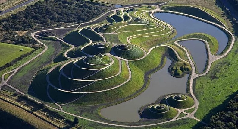 The Garden of Cosmic Speculation, Scotland publicartprivateviews