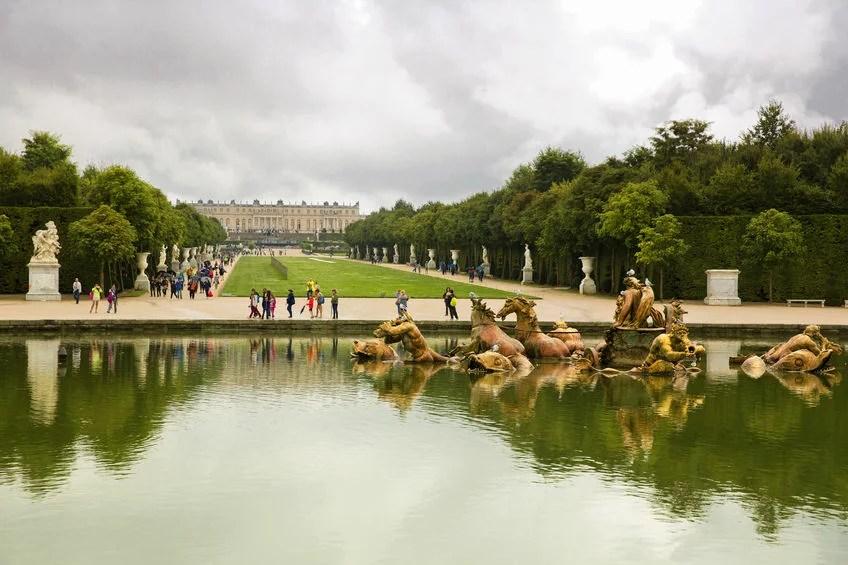 Versailles Garden, France lachris77123rf
