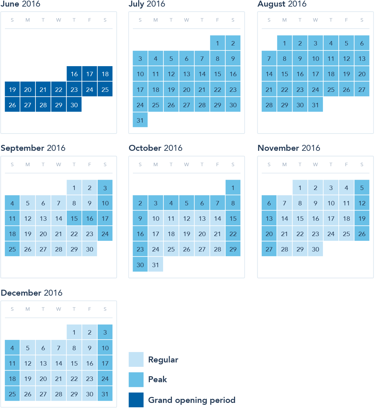 WindowSeat Ticket Pricing Calendar