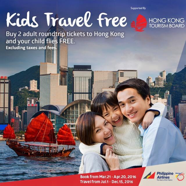 PAL- Kids travel free