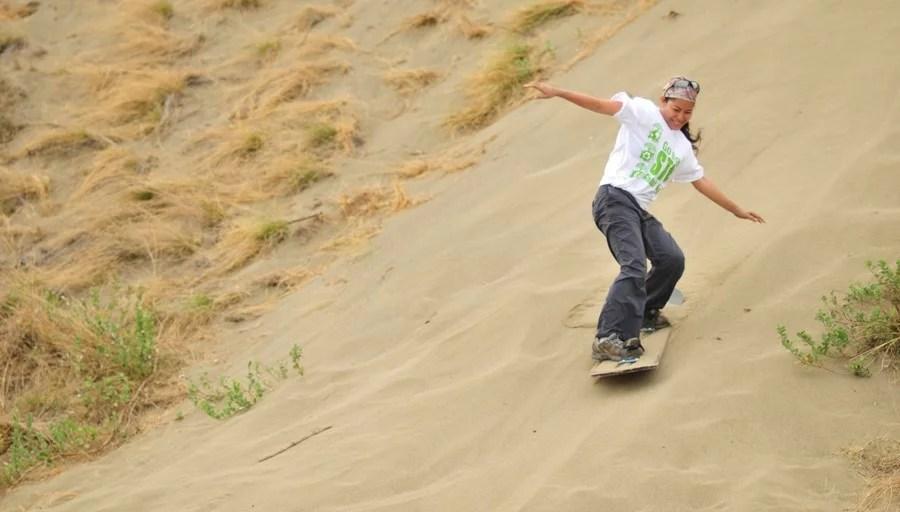 sandboarding in ilocos norte by kara santos