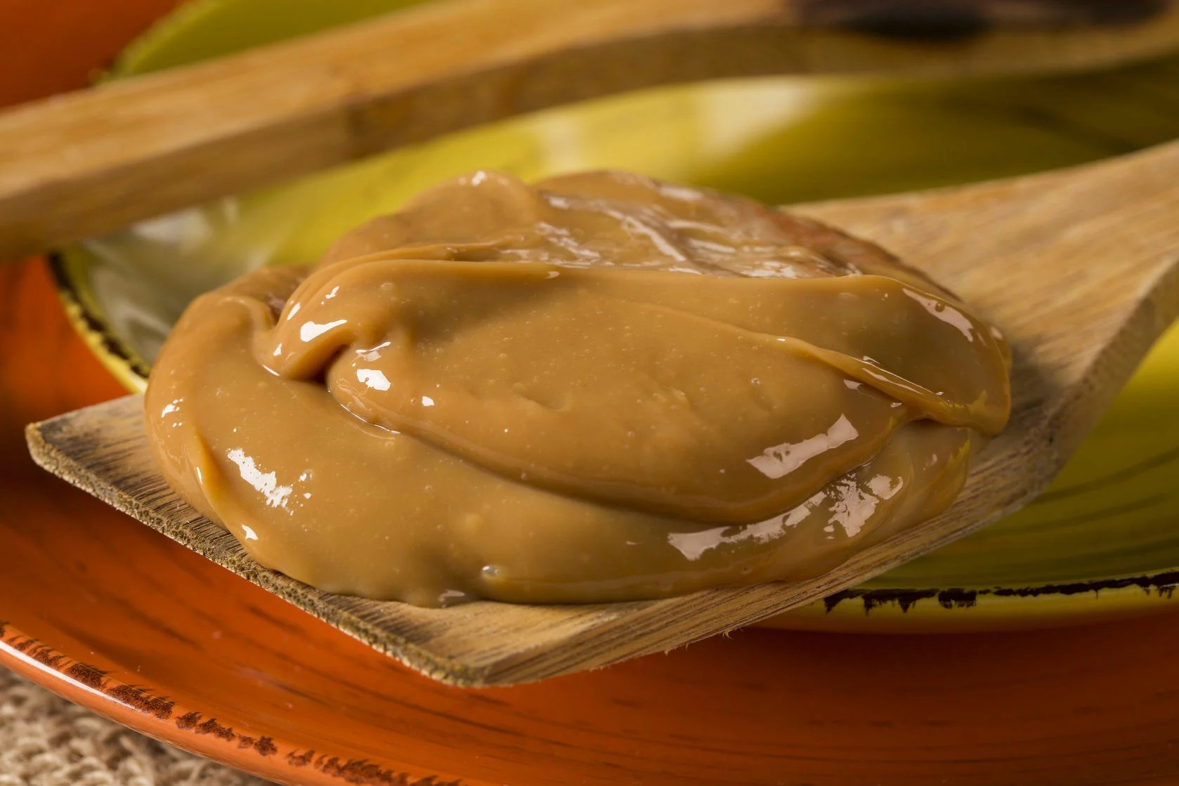 62130157 - dulce de leche, (doce de leite) a sweet made from milk, made in brazil and argentina