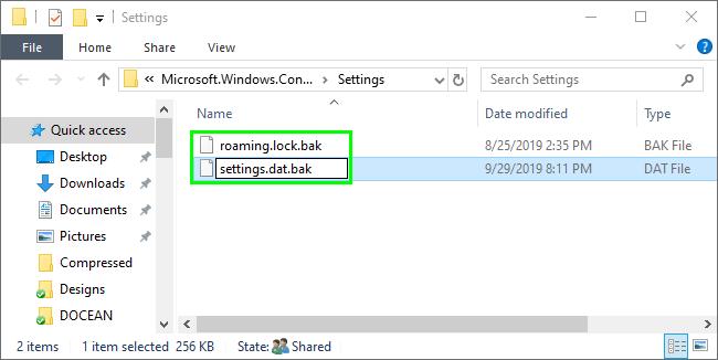 rename windows spotlight data