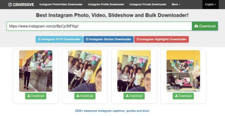 download photo instagram