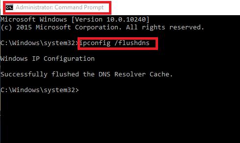 err_network_changed empty dns
