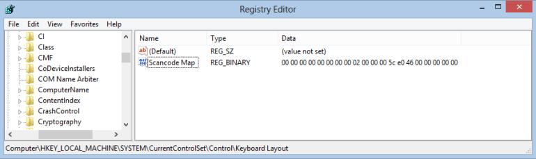 windows key not working registry editor