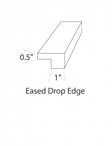 Eased Drop Edge