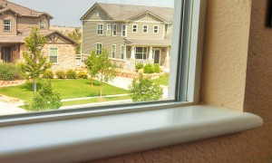 Bisque window sill with bullnose edge - Window Sills Direct