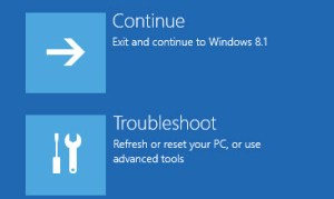 Advanced Startup Settings FIX: The drive where windows is installed is locked locked