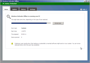 Windows Defender Offline Scan Use Windows Defender Offline to Remove Malware windows defender