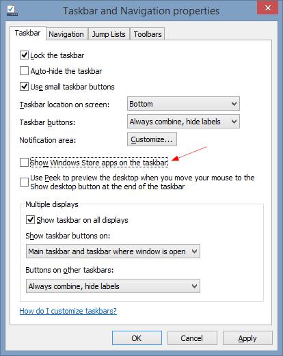 Taskbar-and-Navigation-properties-2014-05-01-16_28_05 Disable Windows 8 Apps From Displaying on Taskbar taskbar