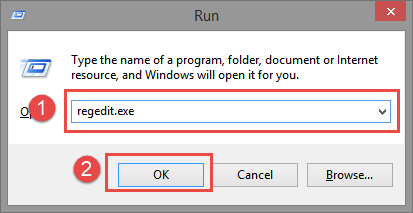 """Run: Regedit FIX: """"Invalid MS-DOS function"""" while trying to delete/uninstall files Invalid MS-DOS function"""