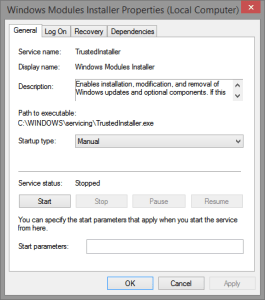 Windows Modules Installer Learning: What is trustedinstaller.exe? TrustedInstaller