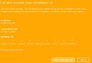 Phone Activation: Steps FIX: 0xc004e003 when activating Windows FIX: 0xc004e003 when activating Windows