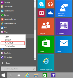 Add to Start WIndows 10 How-to add Apps to the Start Menu in Windows 10 How-to add Apps to the Start Menu in Windows 10