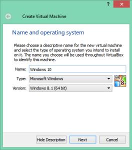 Windows 10 Virtual Box FIX: 0x0000005D while Installing Windows 10 FIX: 0x0000005D while Installing Windows 10