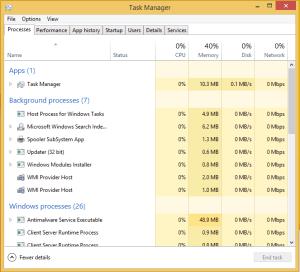 Ctrl+Shift+Esc Must know Windows 10 Secrets Must know Windows 10 Secrets