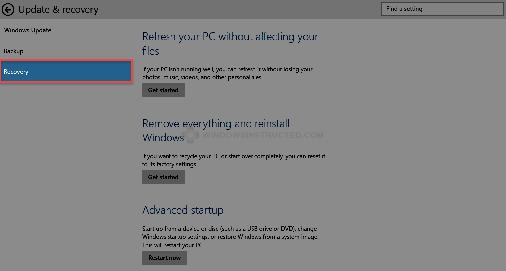 Windows 10 Recovery How to Reinstall Windows 10 reinstall Windows 10